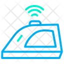 Smart Iron Automation Internet Of Things Icon