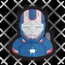 Iron Patriot Iron Man Marvel Icon