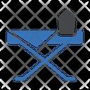 Iron Press Table Icon