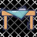 Iron Table Iron Table Icon