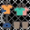 Ironing Iron Clothes Icon