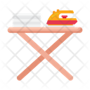 Ironing Board Iron Table Ironing Table Icon