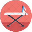 Ironing Board Stand Icon