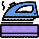 Ironing Plumber Cleaning Icon