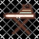 Household Iron Table Icon