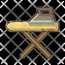 Household Iron Ironing Icon