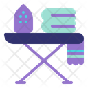 Ironing Board Ironing Table Housekeeping Icon