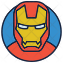 Iron Man Warrior Superhero Icon