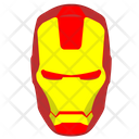 Ironman Iron Head Icon