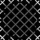 Irreversible Arrows Icon