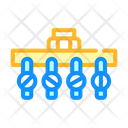 Irrigation Pipeline System Icon
