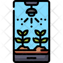 Agriculture Irrigation Monitoring Icon
