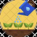 Irrigate Plants Gardening Icon