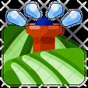 Irrigation Farm Natural Icon