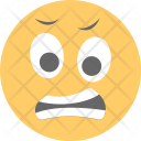 Grimacing Face Irritated Icon