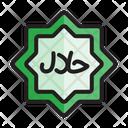 Islam Halal Icon