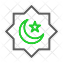 Islam Symbol Moon And Star Islamic Symbol Icon