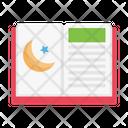 Islamic Book Religious Icon