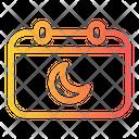 Calendar Eid Date Icon