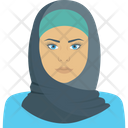 Islamic Female Arab Avatar Icon