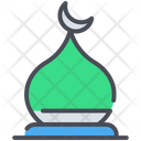 History Islamic Gumbad Arabic Icon