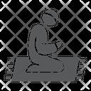 Islamic Prayer Icon