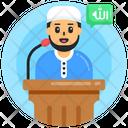 Holy Speech Islamic Speech Oration Icon