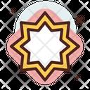 Islamic Star Islamic Symbol Eid Mubarak Icon