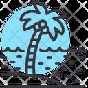 Tree Sea Coconut Tree Icon
