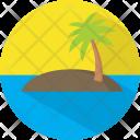 Island Summer Beach Icon