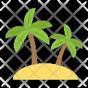 Island Tree Palm Icon