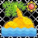 Island Sea Beach Icon