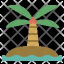 Island Sea Ocean Icon