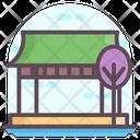 Island Isle Archipelago Icon