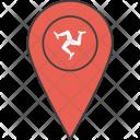 Isle Man Mann Icon