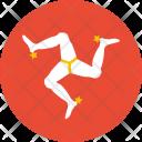 Isle Man Flag Icon