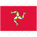 Flag Country Isle Of Man Icon