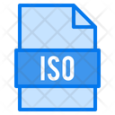 Iso File File Types Icon