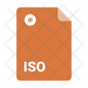 Iso Format File Icon
