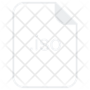 Iso File Document Icon