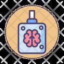 Isolated Brain Brain Jar Mind Icon