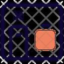 Isolation Room Isolation Door Icon