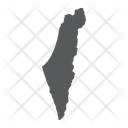 Israel Geography Map Icon