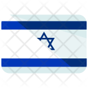 Israel Flag Country Icon