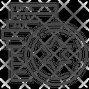 Israeli coin Icon
