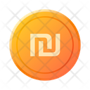 Israeli Shekel Currency Payment Coin Icon