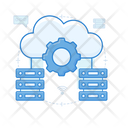 It Infrastructure Automated Solutions Cloud Automation Icon