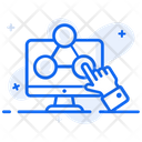 It Networking Computer Networking Information Technology Icon
