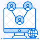 It Networking Computer Network Network Topology Icon