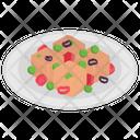 Italian Dish Icon